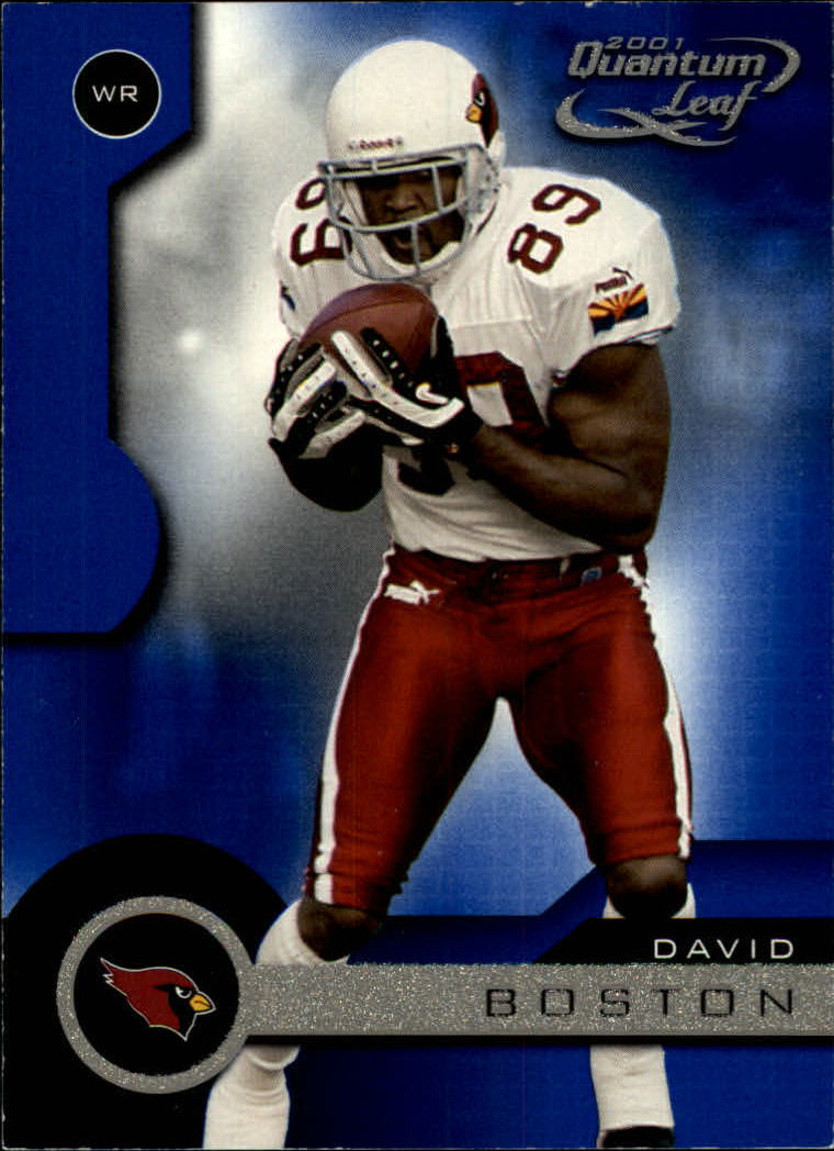 2001 Quantum Leaf #1 David Boston