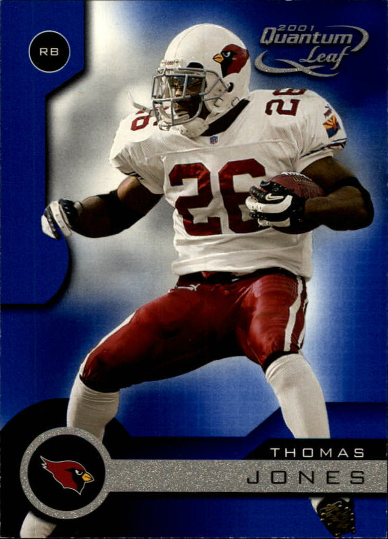2001 Quantum Leaf #6 Thomas Jones
