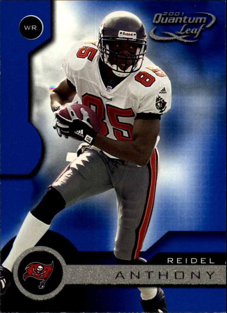 2001 Quantum Leaf #177 Reidel Anthony