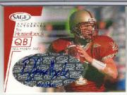 2001 SAGE Autographs Red #A20 Tim Hasselbeck/900