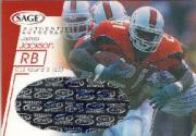 2001 SAGE Autographs Red #A26 James Jackson