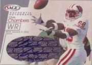 2001 SAGE Autographs Silver #A11 Chris Chambers