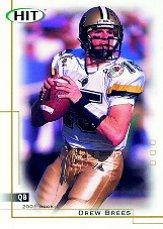 2001 SAGE HIT #15 Drew Brees front image