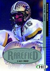 2001 SAGE HIT Rarefied Silver #R8 Drew Brees