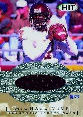 2001 SAGE HIT Jerseys #J1 Michael Vick