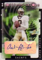 2001 Score Millennium Men Autographs #32 Aaron Brooks