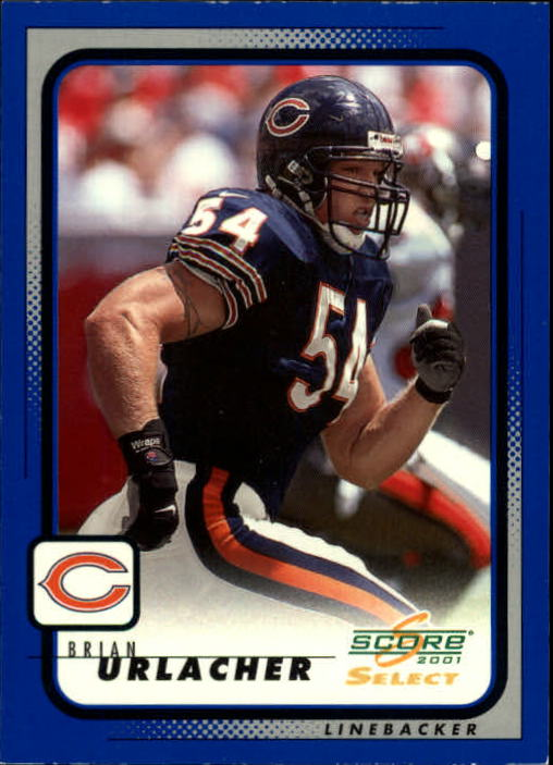 2001 Select #35 Brian Urlacher