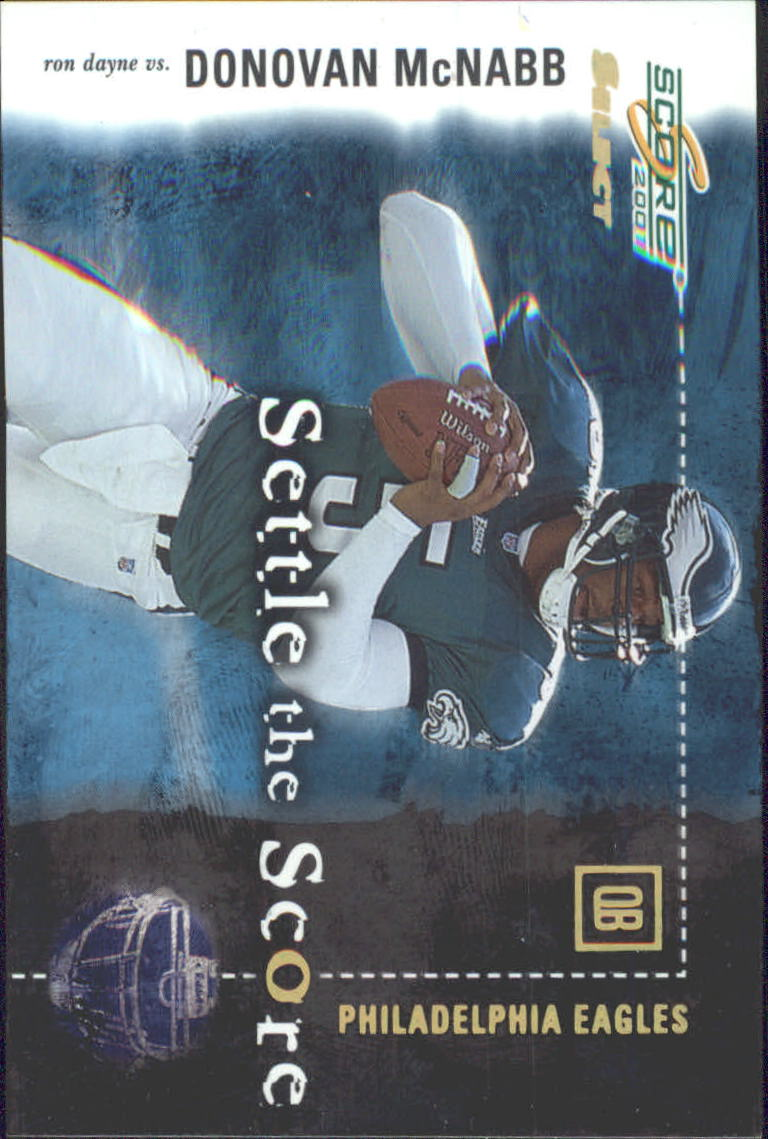 2001 Select Settle the Score #SS12 Donovan McNabb/Ron Dayne