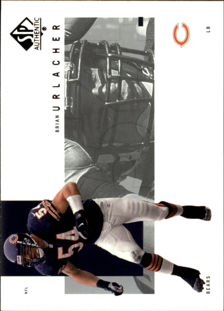 2001 SP Authentic #18 Brian Urlacher