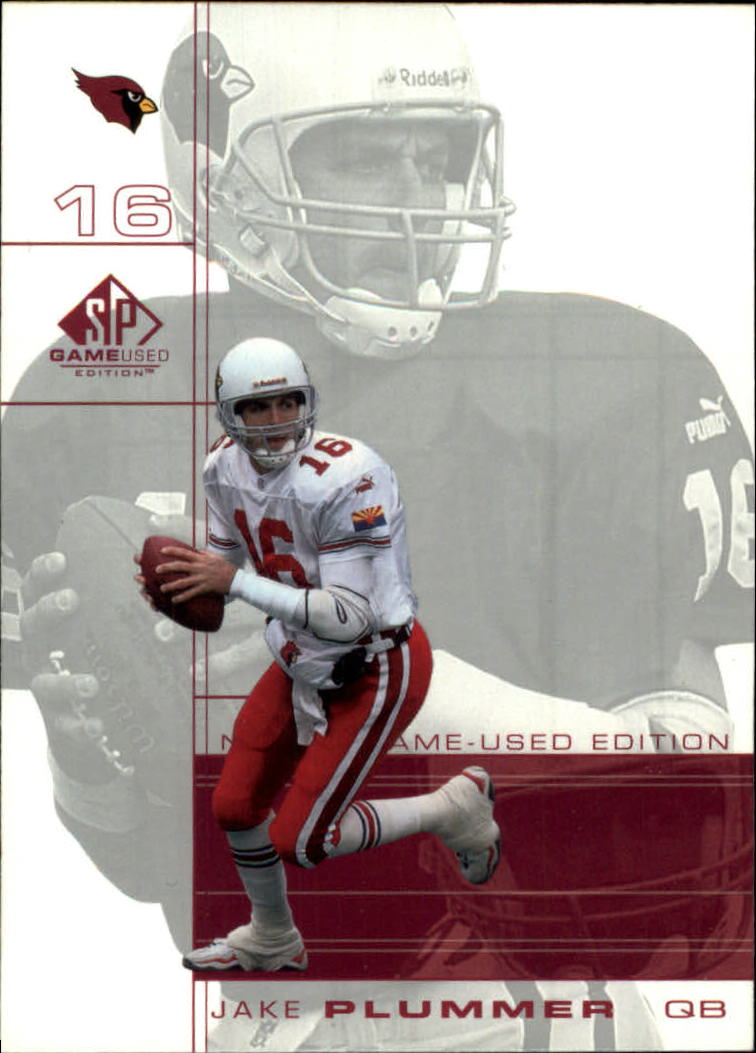 2001 SP Game Used Edition #1 Jake Plummer
