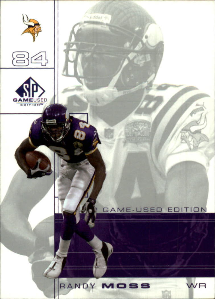 2001 SP Game Used Edition #49 Randy Moss