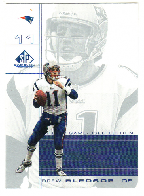 2001 SP Game Used Edition #52 Drew Bledsoe
