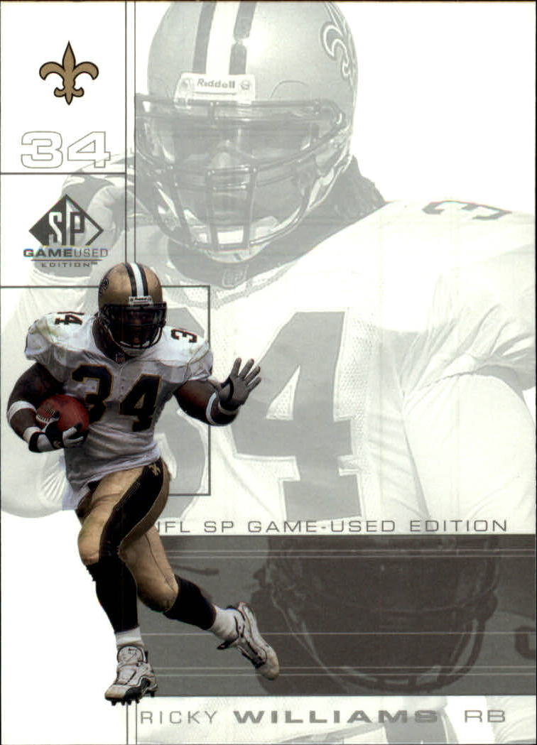 2001 SP Game Used Edition #54 Ricky Williams