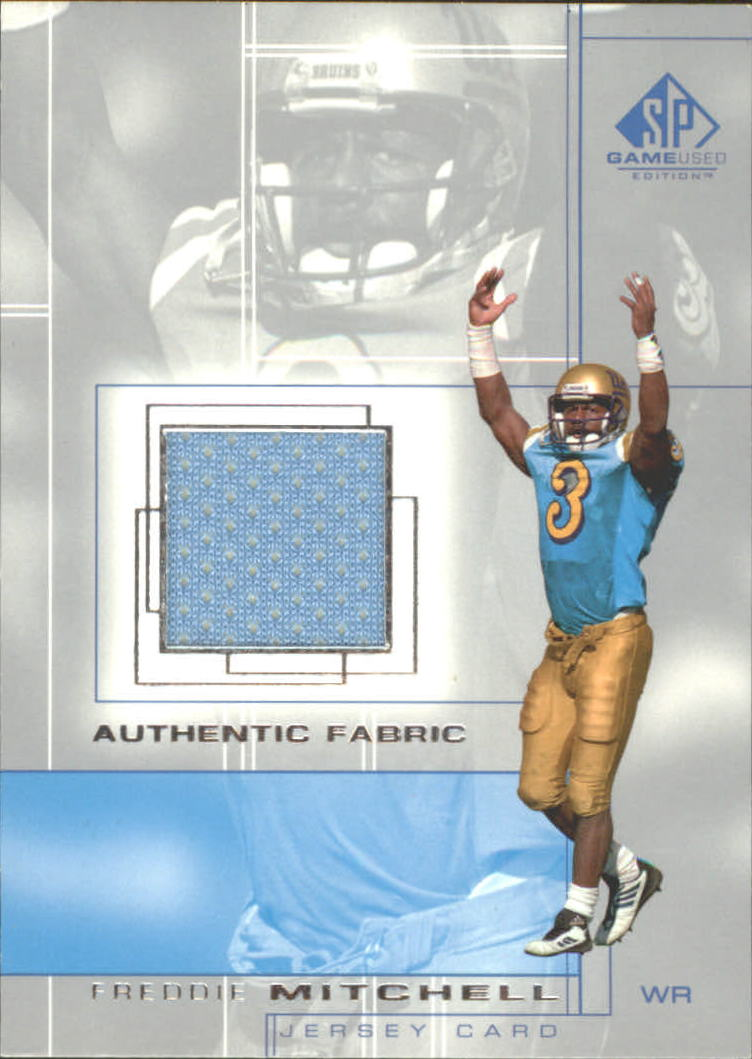 2001 SP Game Used Edition Authentic Fabric #FM Freddie Mitchell
