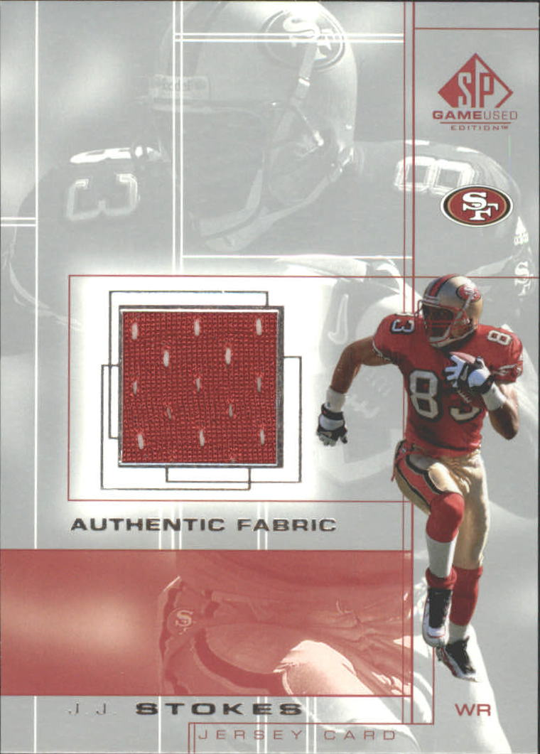 2001 SP Game Used Edition Authentic Fabric #JJ J.J. Stokes