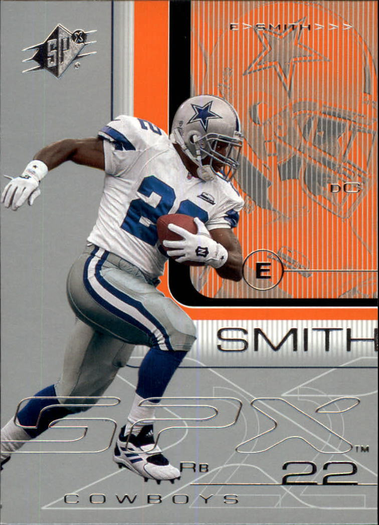 2001 SPx #25 Emmitt Smith front image