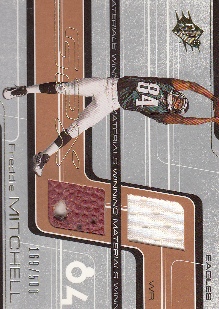 2001 SPx Winning Materials #WMFM1 Freddie Mitchell/500