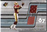 2001 SPx Winning Materials #WMGA2 Rod Gardner/250