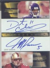 2001 Stadium Club Co-Signers #COCG Daunte Culpepper/Jeff Garcia