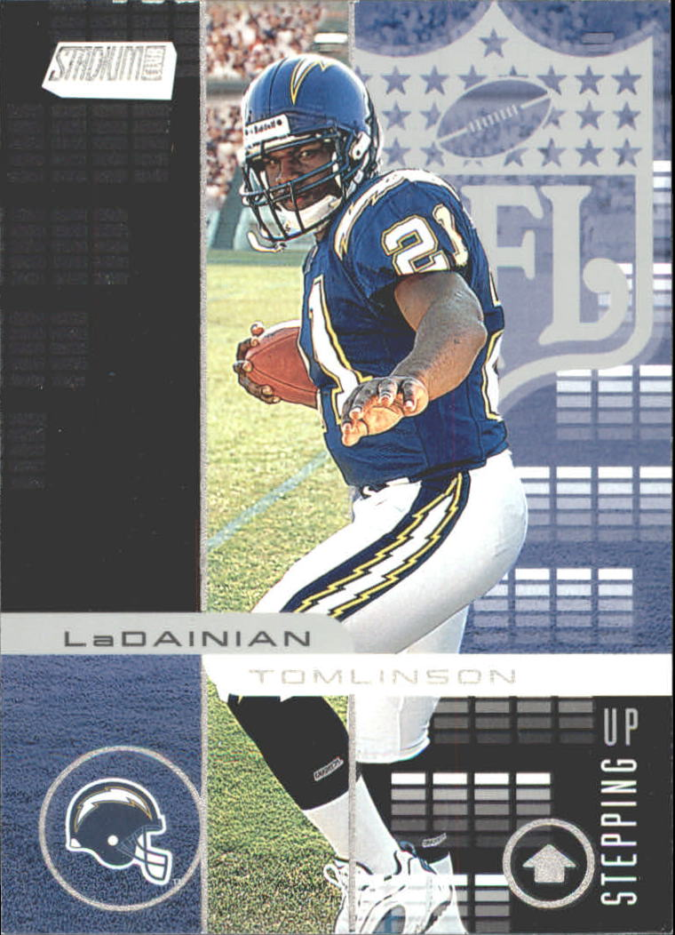 2001 Stadium Club Stepping Up #SU2 LaDainian Tomlinson
