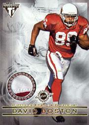 2001 Titanium Double Sided Jerseys #37 David Boston/Jimmy Smith
