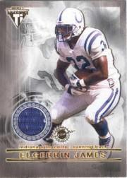 2001 Titanium Double Sided Jerseys #90 Edgerrin James/Peyton Manning