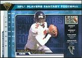 2001 Titanium Players Fantasy #1 Michael Vick