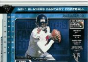 2001 Titanium Players Fantasy Silver #1 Michael Vick