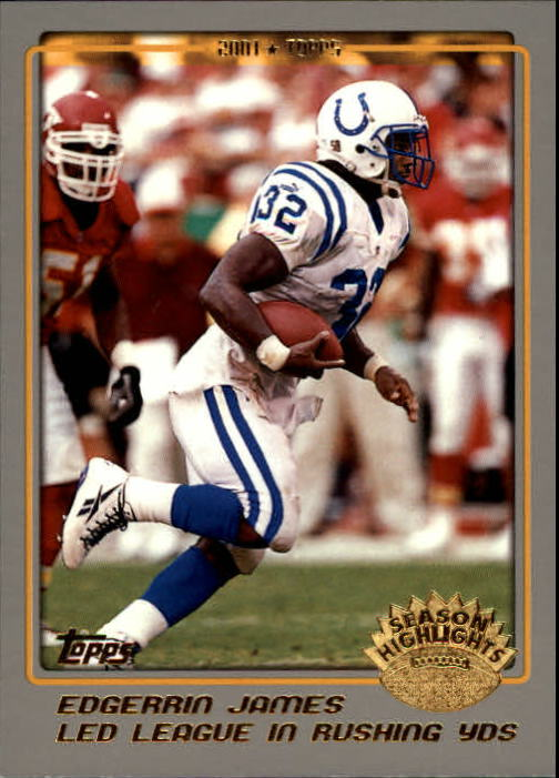 2001 Topps #290 Edgerrin James LL