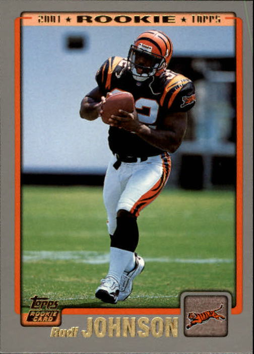 2001 Topps #369 Rudi Johnson RC