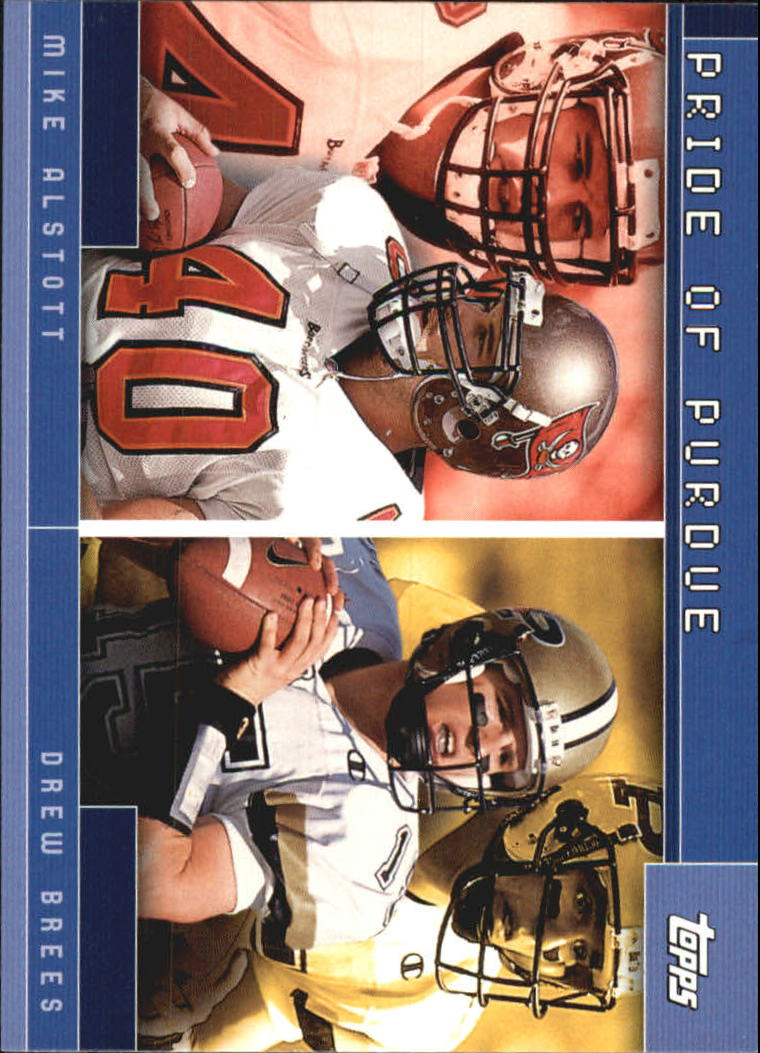 2001 Topps Combos #TC15 Mike Alstott/Drew Brees