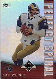 2001 Topps Own the Game #PS6 Kurt Warner