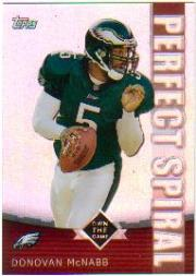 2001 Topps Own the Game #PS7 Donovan McNabb