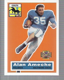 2001 Topps Archives #2 Alan Ameche 56