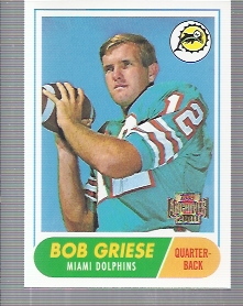 2001 Topps Archives #11 Bob Griese 68