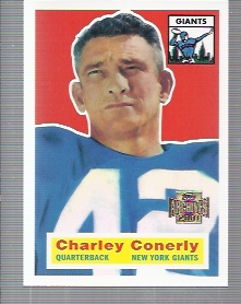 2001 Topps Archives #13 Charley Conerly 56