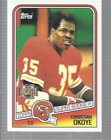 2001 Topps Archives #15 Christian Okoye 88