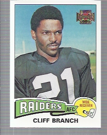 2001 Topps Archives #17 Cliff Branch 75