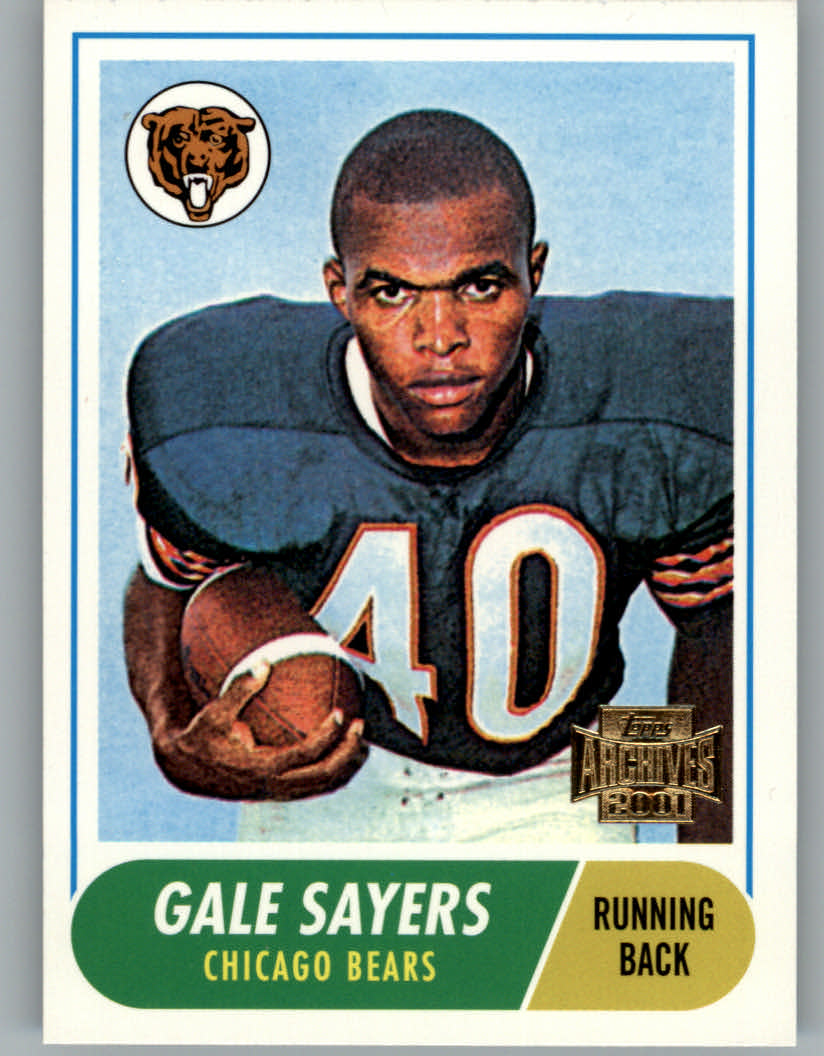 2001 Topps Archives #34 Gale Sayers 68