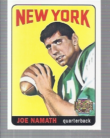 2001 Topps Archives #41 Joe Namath 65
