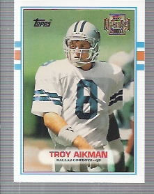 2001 Topps Archives #55 Troy Aikman 89