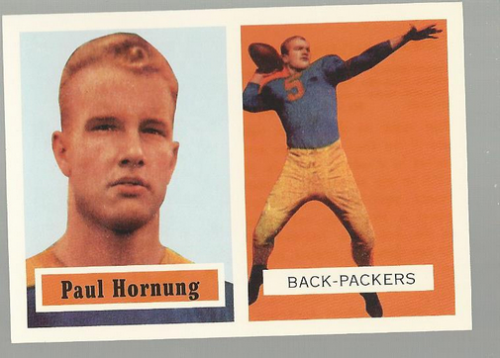 2001 Topps Archives #63 Paul Hornung 57