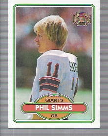 2001 Topps Archives #64 Phil Simms 80
