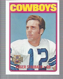 2001 Topps Archives #66 Roger Staubach 72