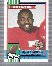 2001 Topps Archives #84 Rodney Hampton 90
