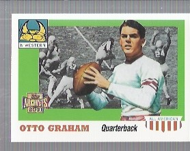 2001 Topps Archives #90 Otto Graham 55