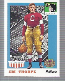 2001 Topps Archives #92 Jim Thorpe 55