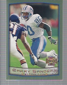 2001 Topps Archives #94 Barry Sanders 99