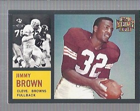 2001 Topps Archives #98 Jim Brown 62 front image