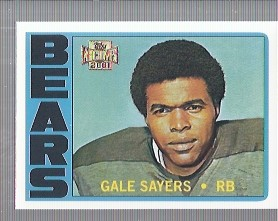 2001 Topps Archives #110 Gale Sayers 72